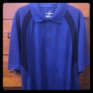 GRAND SLAM GOLF XL Knit Polo Shirt T-shirt